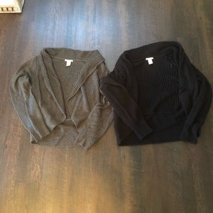 Two H&M Sweaters